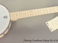 Deering Goodtime Solana 6 6-String Banjo Full Front View