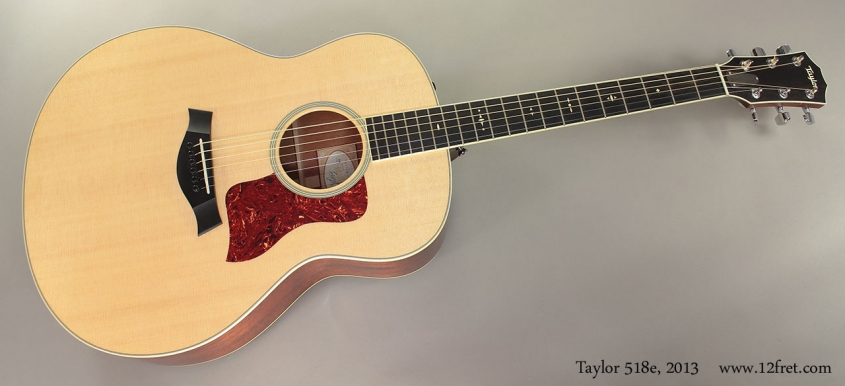 Taylor 518e, 2013 full front view