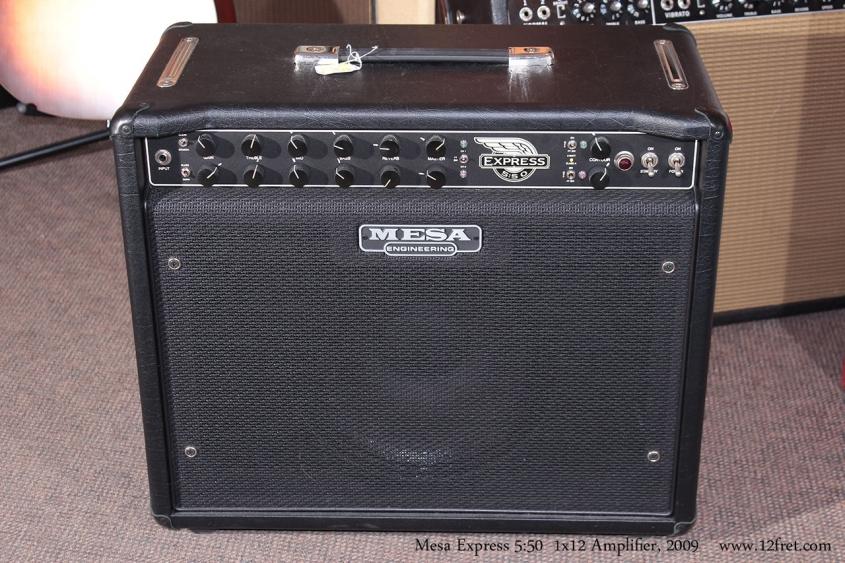 Mesa Express 5:50 1x12 Combo Amplifier, 2009 Front