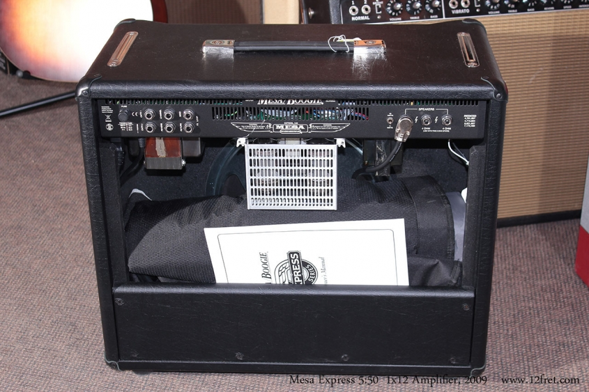 Mesa Express 5:50 1x12 Combo Amplifier, 2009 Back