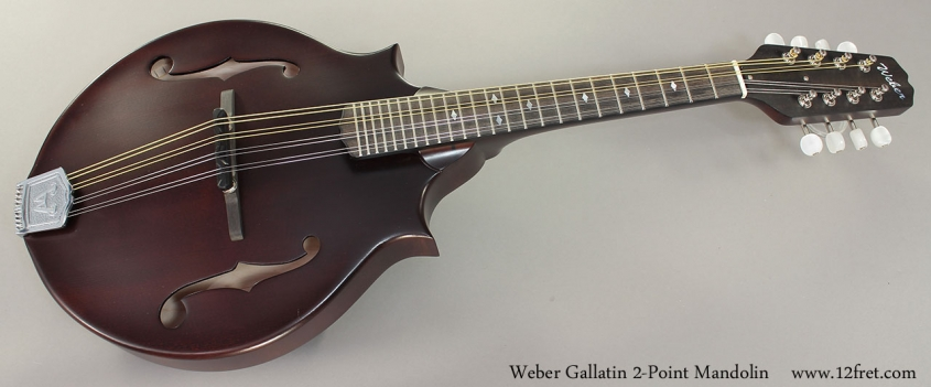 Weber Gallatin 2-Point Mandolin Full Front View