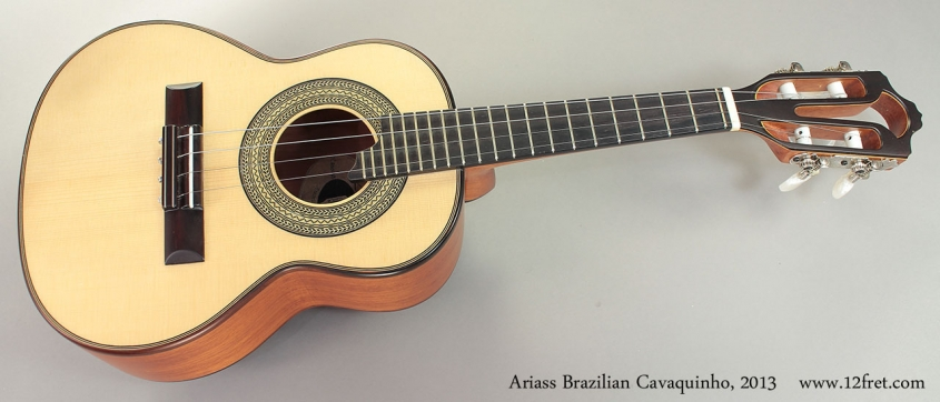 Ariass Brazilian Cavaquinho Full Front View