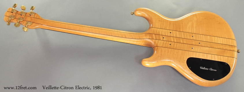 Veillette-Citron Electric, 1981 full rear view