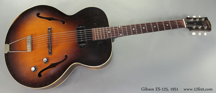 Gibson ES-125, 1951 full front view