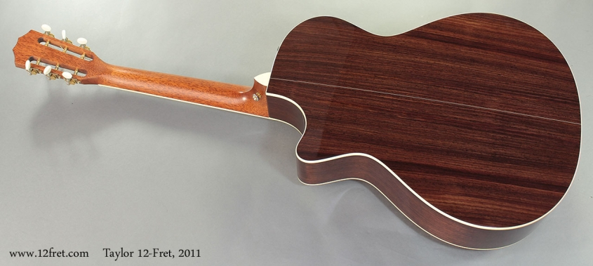 Taylor 12-Fret, 2011 Full Rear View