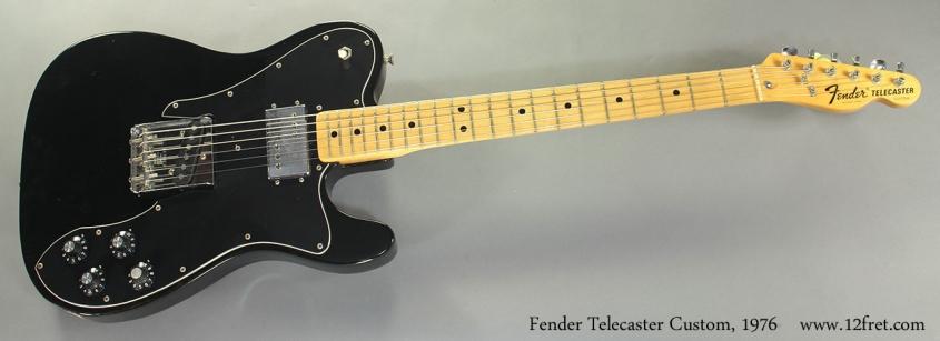 Fender Telecaster Custom, 1976 full front view