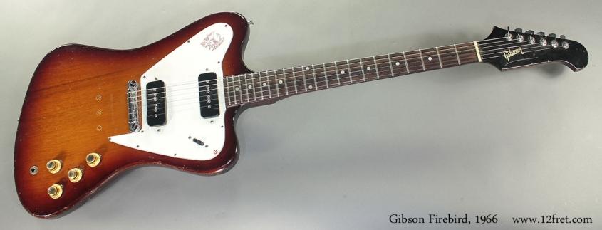 Gibson Firebird, 1966 full front view