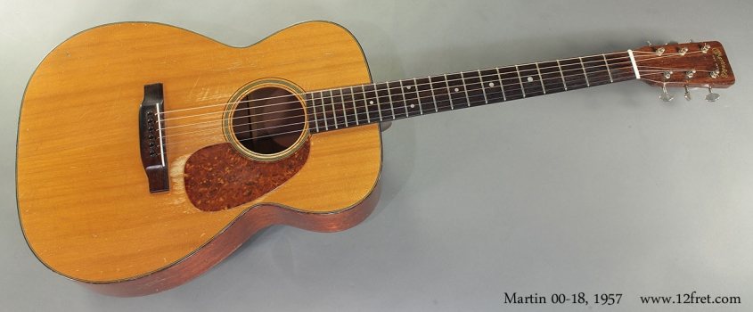 Martin 00-18, 1957 full front view