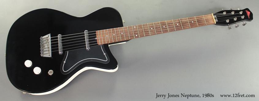 Jerry Jones Neptune, 1980s Full Front View