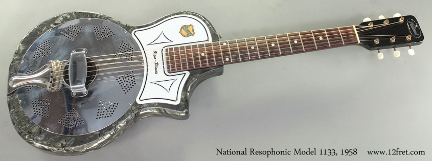 National Resophonic Model 1133, 1958 Full Front View