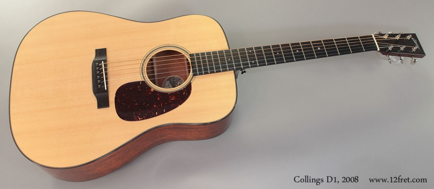 Collings D1, 2008 Full Front View