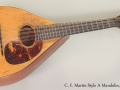 C. F Martin Style A Mandolin 1919 Full Front View