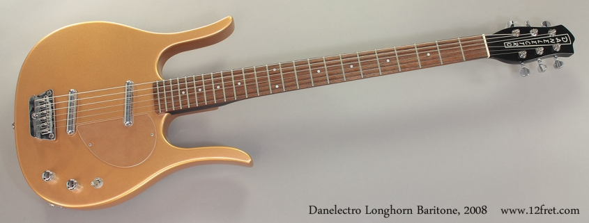 Danelectro Longhorn Baritone, 2008 Full Front View