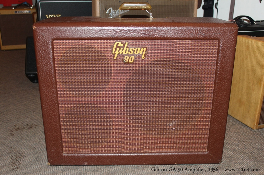 Gibson GA-90 Amplifier, 1956 Front View