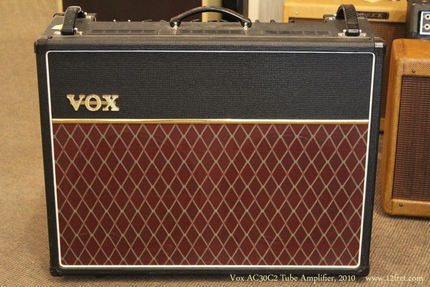 Vox AC30C2 Tube Amplifier, 2010 Front View