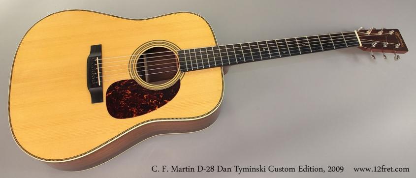 C. F. Martin D-28 Dan Tyminski Custom Edition, 2009 Full Front View