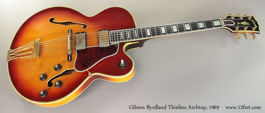 Gibson Byrdland Thinline Archtop, 1969 Full Front View