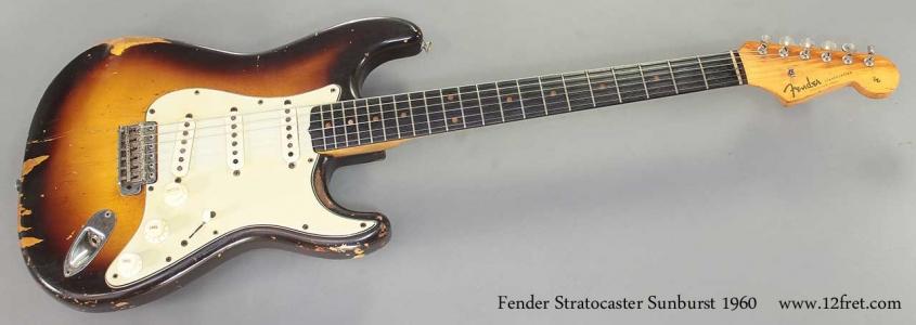 Fender Stratocaster Sunburst, 1960 Full Front View