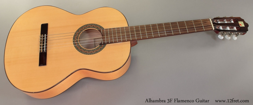 Alhambra 3F Flamenco Guitar Full Front View