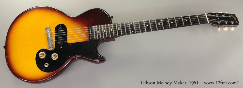 Gibson Melody Maker, 1961 Full Front View