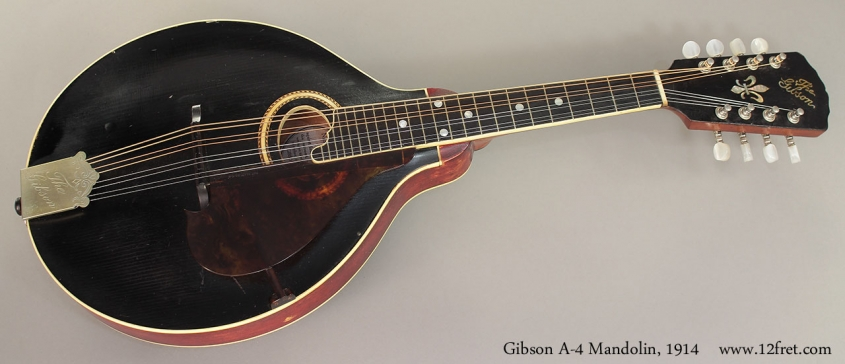 Gibson A-4 Mandolin, 1914 full front view