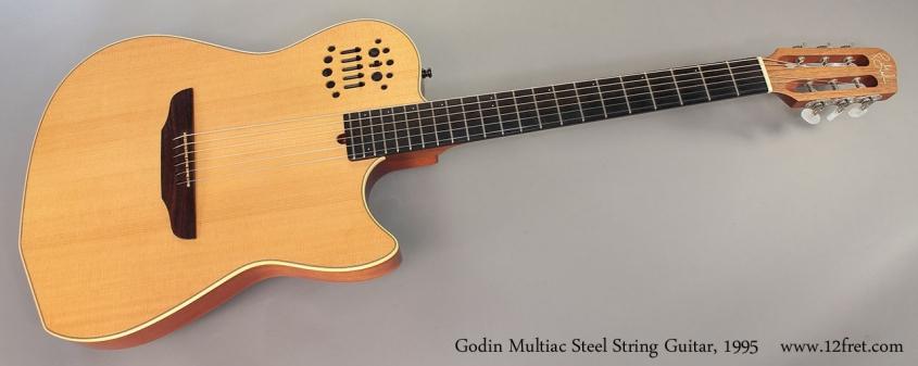 Godin Multiac Steel String Guitar, 1995 full front view