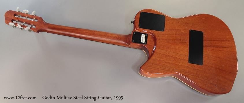 Godin Multiac Steel String Guitar, 1995 full rear view