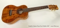 Kanile'a Custom Tenor Koa Ukulele, 2007 Full Front View