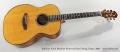 Anthony Karol Brazilian Rosewood Steel String Guitar, 2003 Full Front View