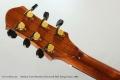 Anthony Karol Brazilian Rosewood Steel String Guitar, 2003 Head Rear View