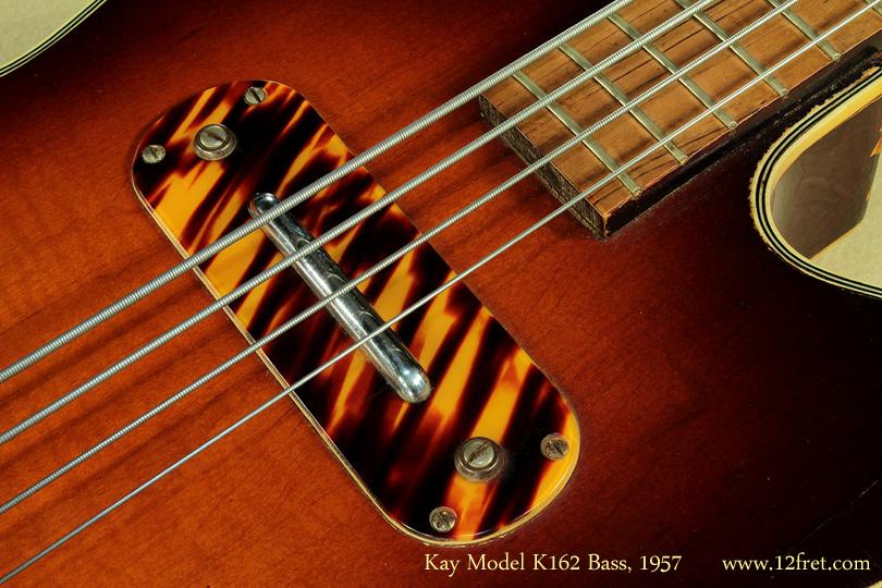 Kay Model K162 Hollowbody Bass 1957 pickup