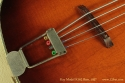 Kay Model K162 Hollowbody Bass 1957 bridge