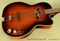 Kay Model K162 Hollowbody Bass 1957 top