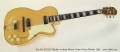 Kay Pro K172-B Thinline Archtop Electric Guitar Honey Blonde, 1956 Full Front View