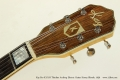 Kay Pro K172-B Thinline Archtop Electric Guitar Honey Blonde, 1956 Head Front View