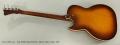 Kay K5920 Speed Demon Electric Bass Guitar, 1957 Full Rear View