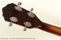 Kay Model K5965 Hollowbody Bass Guitar Late 1950s head rear view