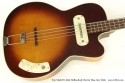 Kay Model K5965 Hollowbody Bass Guitar Late 1950s top