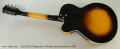 Kay K672 Swingmaster Thinline Archtop Electric, 1962 Full Rear View