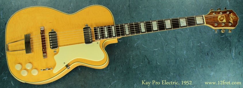 Kay Pro Electric 1952  full front view