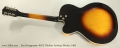 Kay Swingmaster K673 Thinline Archtop Electric, 1962 Full Rear View