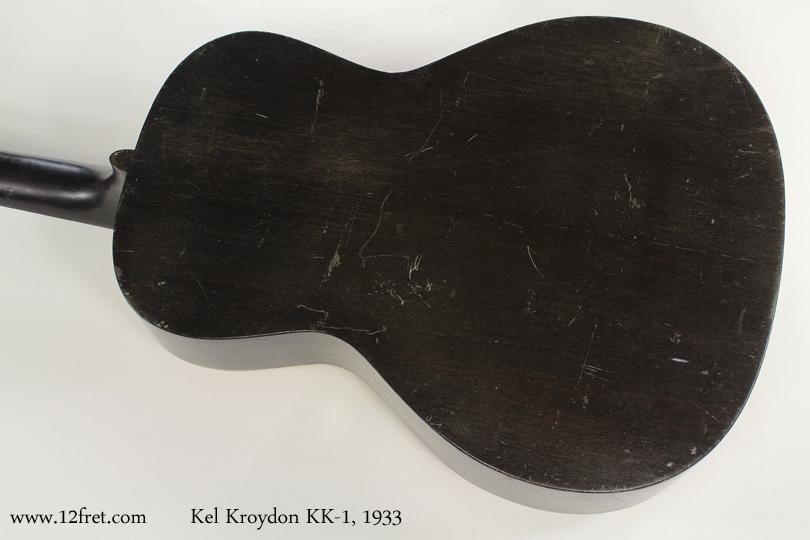 Kel Kroydon KK-1 1933 back