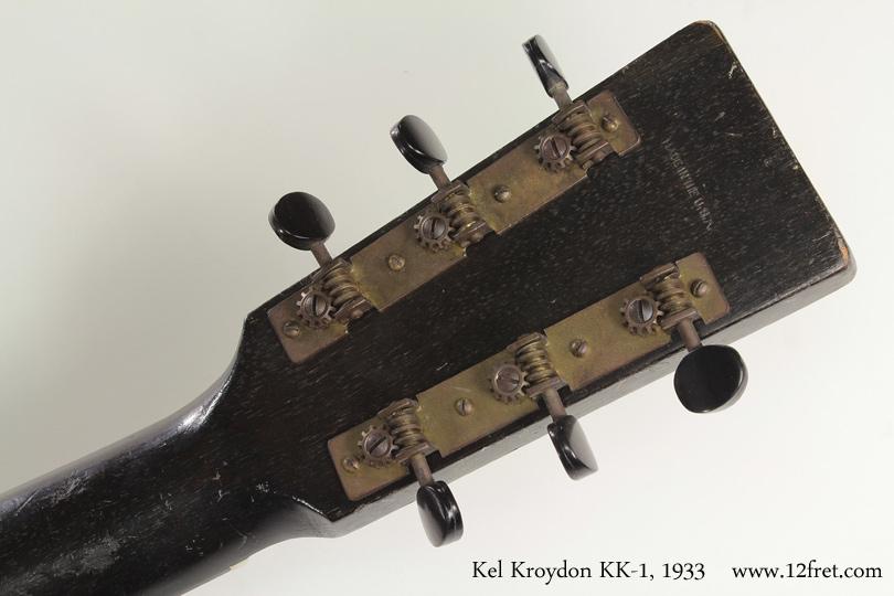 Kel Kroydon KK-1 1933 head rear view