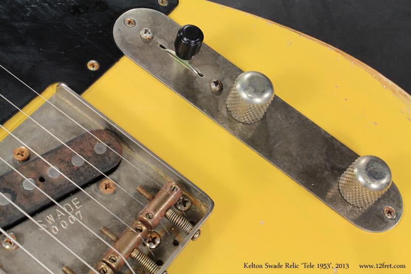 Kelton Swade Relic Tele 1953, 2013 controls