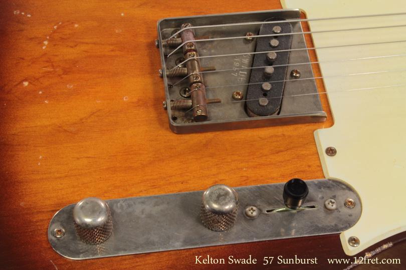Kelton Swade 57 Sunburst controls