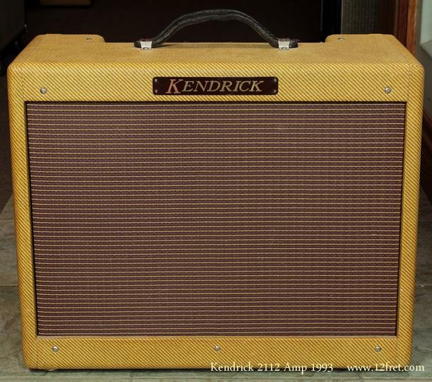 Kendrick Tweed 2112 Amp 1993 front