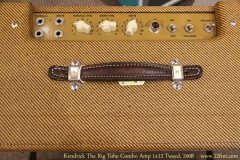 Kendrick The Rig Tube Combo Amp 1x12 Tweed, 2008 Controls View