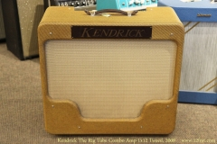 Kendrick The Rig Tube Combo Amp 1x12 Tweed, 2008 Full Front View