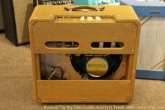 Kendrick The Rig Tube Combo Amp 1x12 Tweed, 2008 Full Rear View
