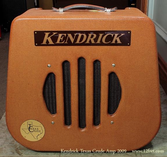 Kendrick Texas Crude Harp Amp 2009 front